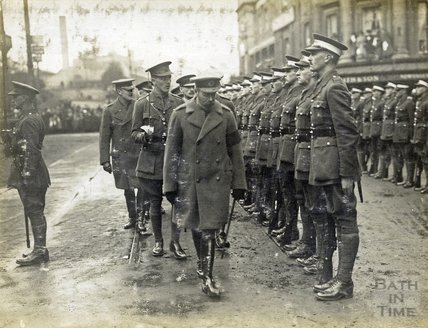 King George V's visit to Bath, November 9th 1917