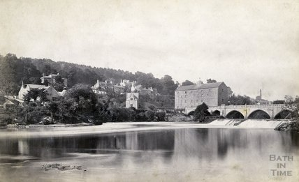 Bathampton Weir, Tollbridge and Batheaston Mill, c.1890s