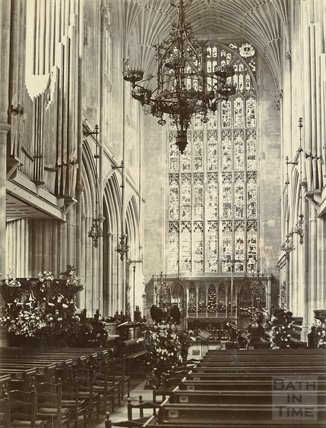 Bath Abbey East Window, c.1898