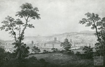 View from Beechen Cliff, c.1800