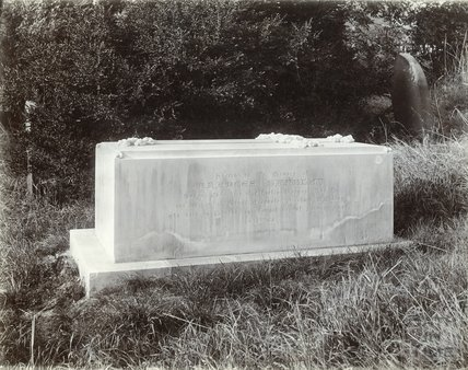 Fanny Burney's (Frances D'Arblay) Tomb in Walcot, c.1930s
