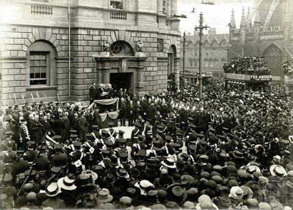 Proclamation of George V, Guildhall, 1910