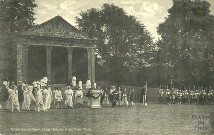 Bath Historical Pageant Episode 1: Dedication of Sul's Temple, AD 160, July 1909