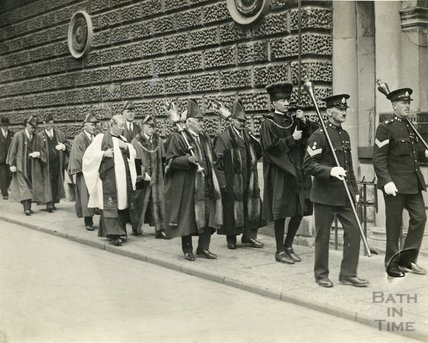 Mayoral Procession to St. James Church, c.1920s