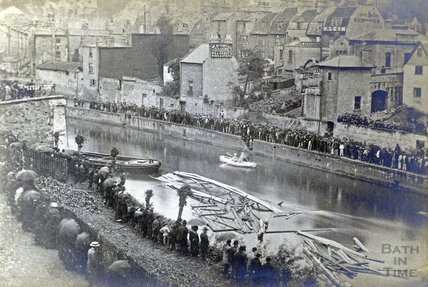 Royal Bath and West Show, Widcombe Tollbridge Disaster, 1877