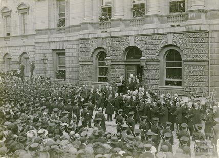 Proclamation of George V and Coronation, Guildhall, 1910