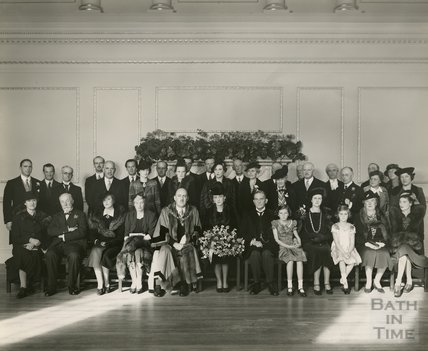 Visit of the Duchess of Kent, Assembly Rooms, Bath 1938