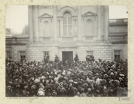 Opening of Pump Room Annexe by Duke of Cambridge 1897