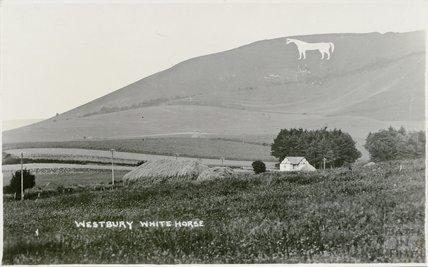 Westbury White Horse No.1, Wiltshire, c.1920s