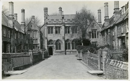 The Chapel of the Vicar's Close, Wells, c.1910s