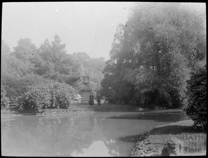 Royal Victoria Park pond, c.1905