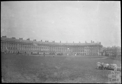 Royal Crescent, Bath, c.1905