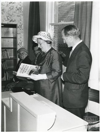 The opening of the Weston Branch Library, 1962