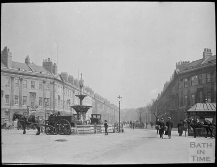 Laura Place, Great Pulteney Street, c.1905