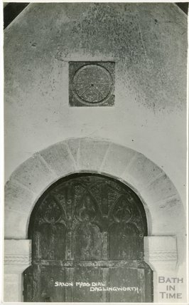 Saxon Mass Dial, Daglingworth Church, Gloucestershire, c.1920s