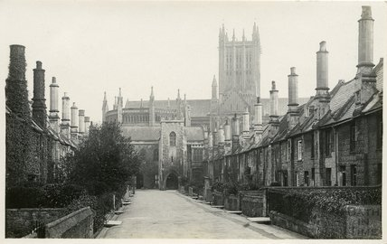 The Vicar's Close, Wells, c.1910s