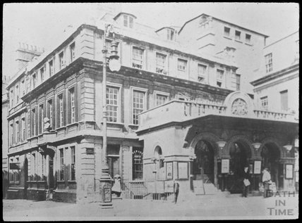 Copy of a photograph of Theatre Royal, Saw Close, Bath c.1903
