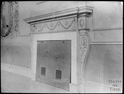 Unidentified Fire Place, very ornate, possibly Assembly Rooms, c.1905