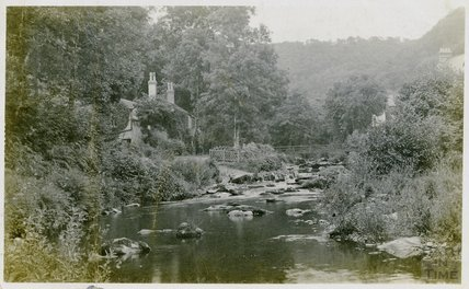 Riverside Cottage, Rockford, near Lynton, c.1908