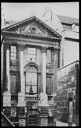 Copy of a photograph of Ralph Allen's town house behind Terrace Walk, Bath c.1903