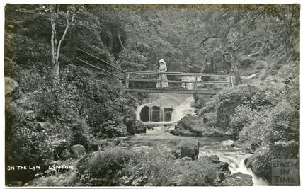 On the Lyn, Lynton, Somerset, c.1910s