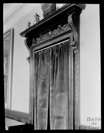 Curtained Interior Doorway, Guildhall, Bath, c.1905