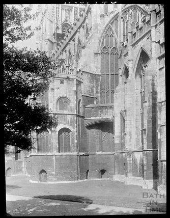 Gloucester Cathedral from the east end, c.1905