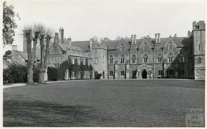 The Bishop's Palace, Wells, c.1910s