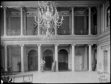Tearoom at Assembly Rooms, c.1905