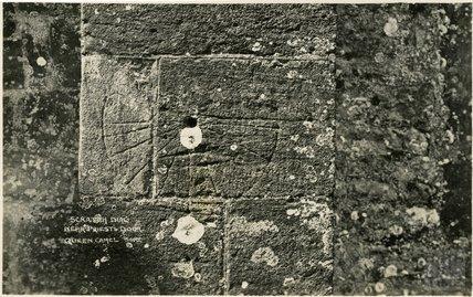 Scratch Dial near Priests Door, Queen Camel, Somerset c.1910s
