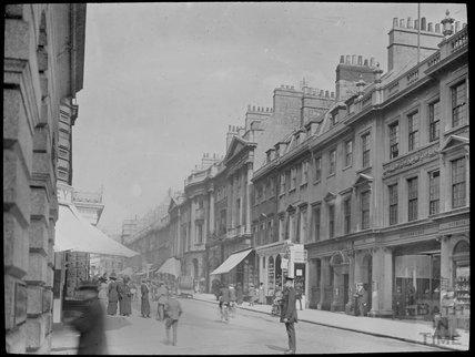 View up Milsom Street, c.1905