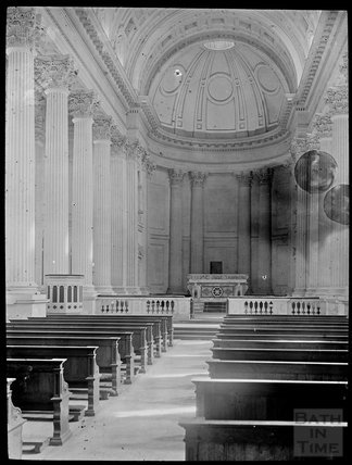 Inside Chapel of St. Paul at Prior Park, c.1905