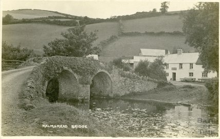 Malmesmead Bridge, Exmoor, Somerset, c.1920s