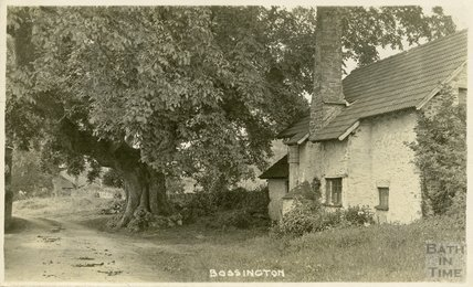 Country cottage at Bossington, c.1910