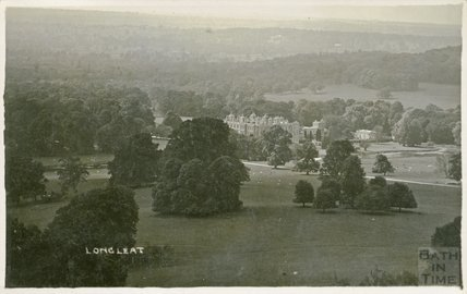 View of Longleat from Heaven's Gate, c.1920s