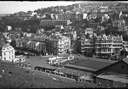 View of Ilfracombe, Devon from Capstone Hill, c.1930s