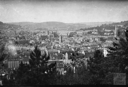 View of Bath from Beechen Cliff, 1932