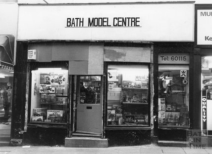 The Bath Model Centre, Lower Borough Walls, 28 January, 1987