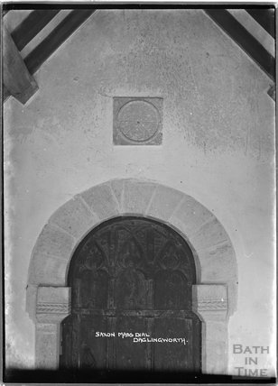 Saxon Mass Dial, Daglingworth Church, Gloucestershire, c.1920s