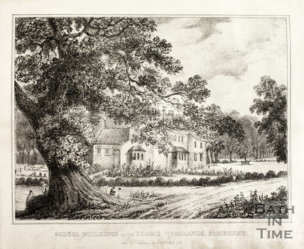 School Buildings at the Frome Woodlands, Somerset, 1835