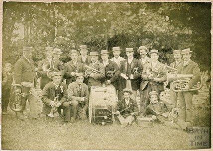 Mrs Wallesleys Band, Bath, c.1900