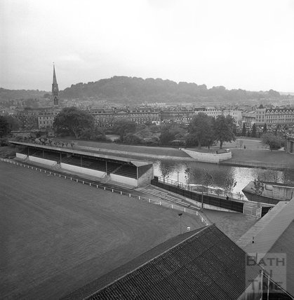 The newly completed Flood Prevention system at Pulteney Weir, 1 June 1972