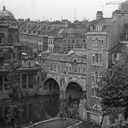 View of Pulteney Bridge, 1 June 1972