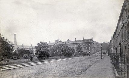 Queen Square, Bath c.1870s