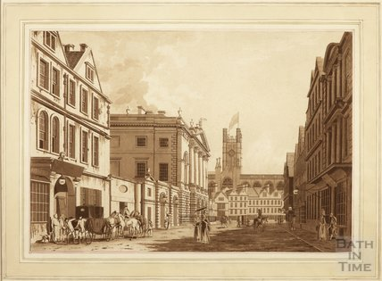 The Town Hall, High Street, Bath 1779