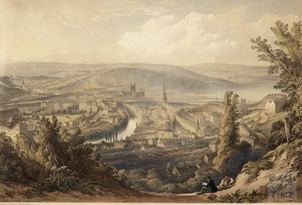 Bath from Beacon Hill, c.1850