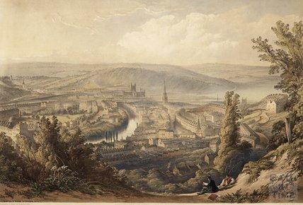 Bath from Beacon Hill, c.1850