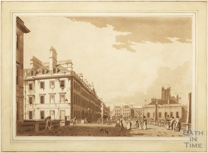 The North Parade at Bath, 1779