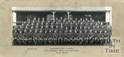 Stothert & Pitt Platoon, 5th Somerset Home Guard, October 1941