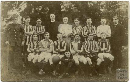 Stothert & Pitt football team, 1918